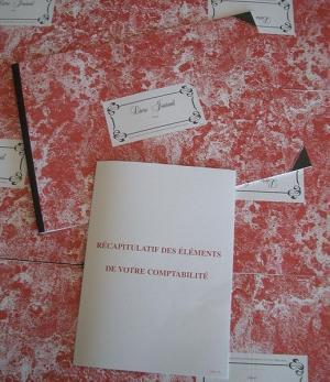 Livre journal annuel avec son état récapitulatif annuel