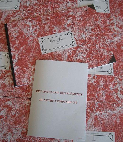 Livre journal nouveau tracé sans calcul de la TVA - grand livre