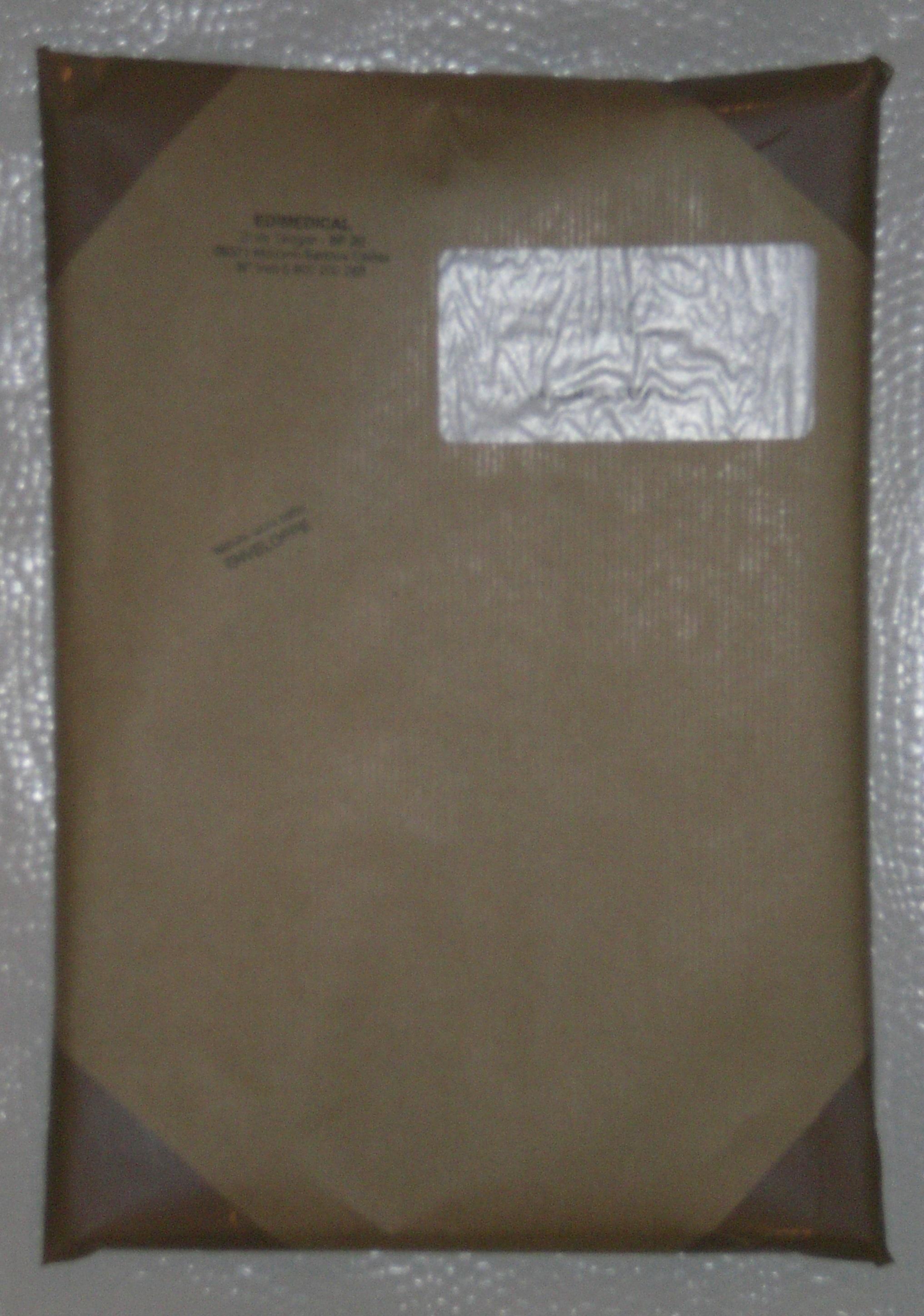 Expédition poste sous pochette kraft coins renforcés